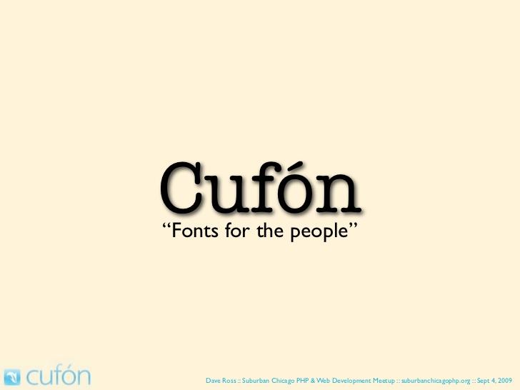 Cufon