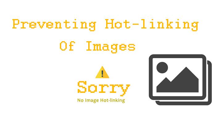 Image hotlinking