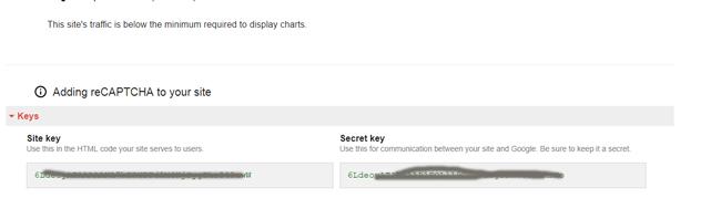 Google reCaptcha in Laravel application